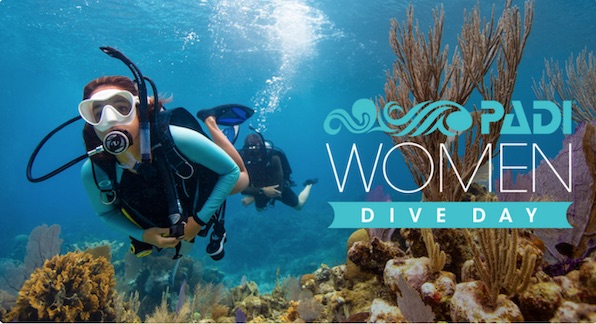 Celebrating Padi Women's Dive Day 2020